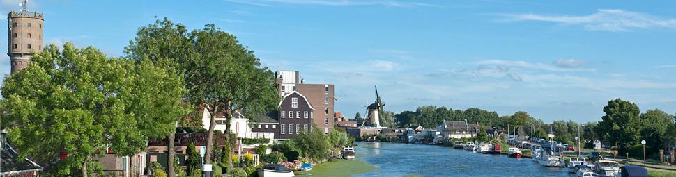 Uitzicht op de Oude Rijn